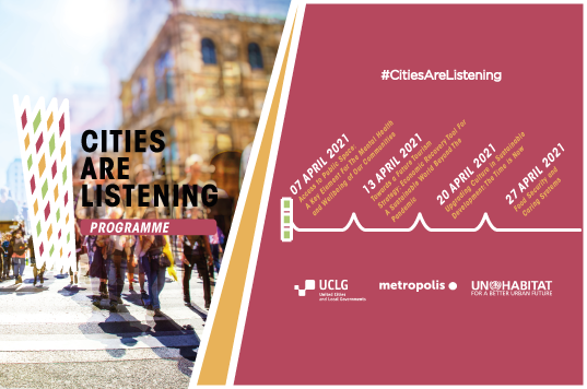 CitiesAreListening - Food Security and  Caring Systems